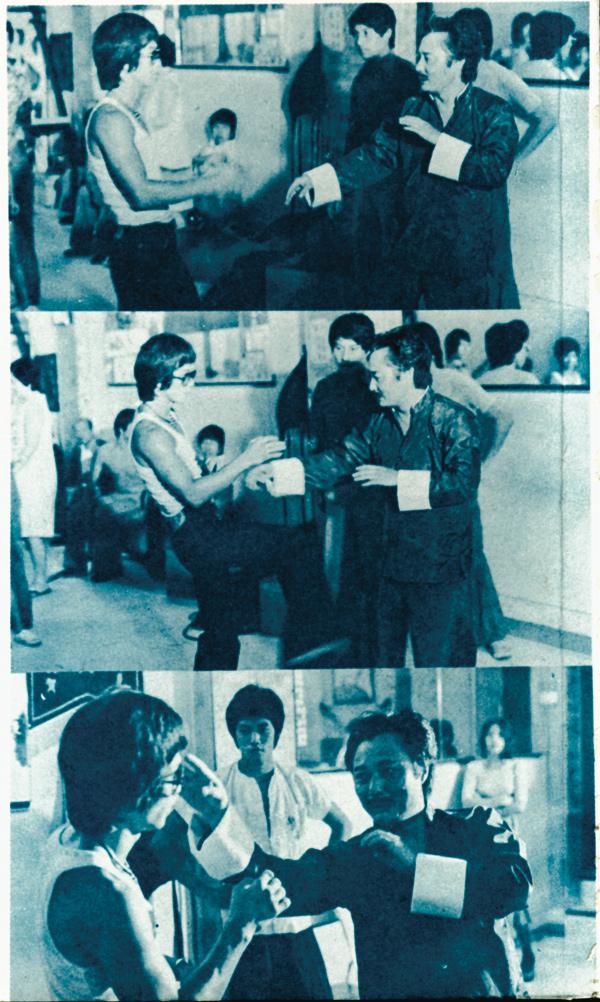 Bruce Lee und Wong Shun Leung