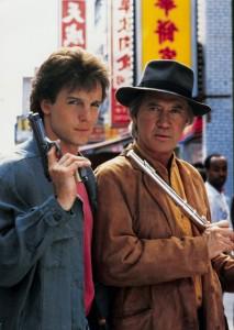 Chris Potter and David Carradine