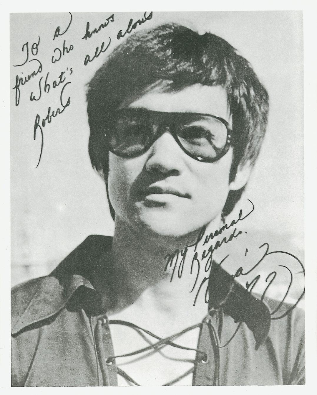 Bruce Lee Unterschrift
